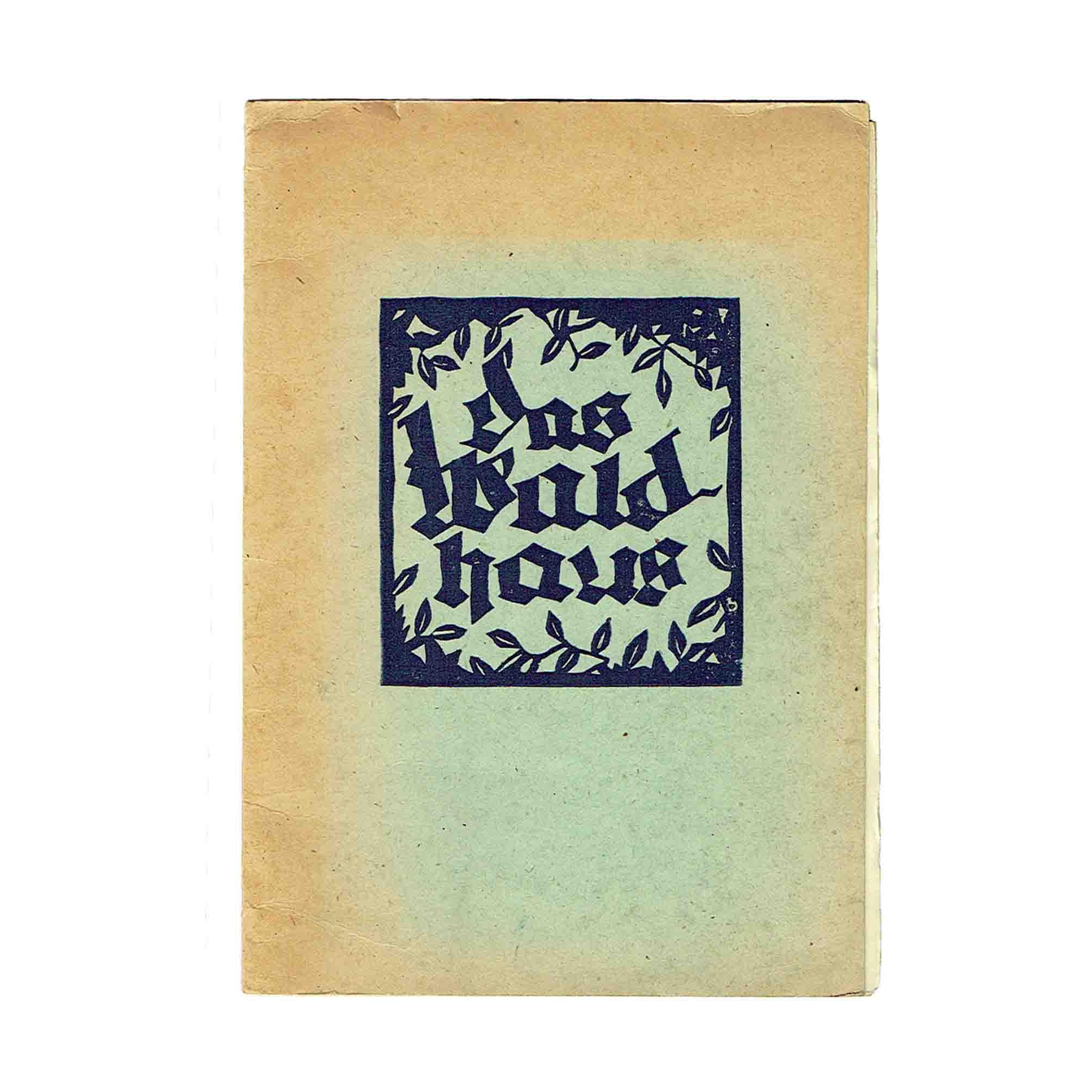 5944 Lager Glasenbach Bilderbuch 1946 Umschlag frei N