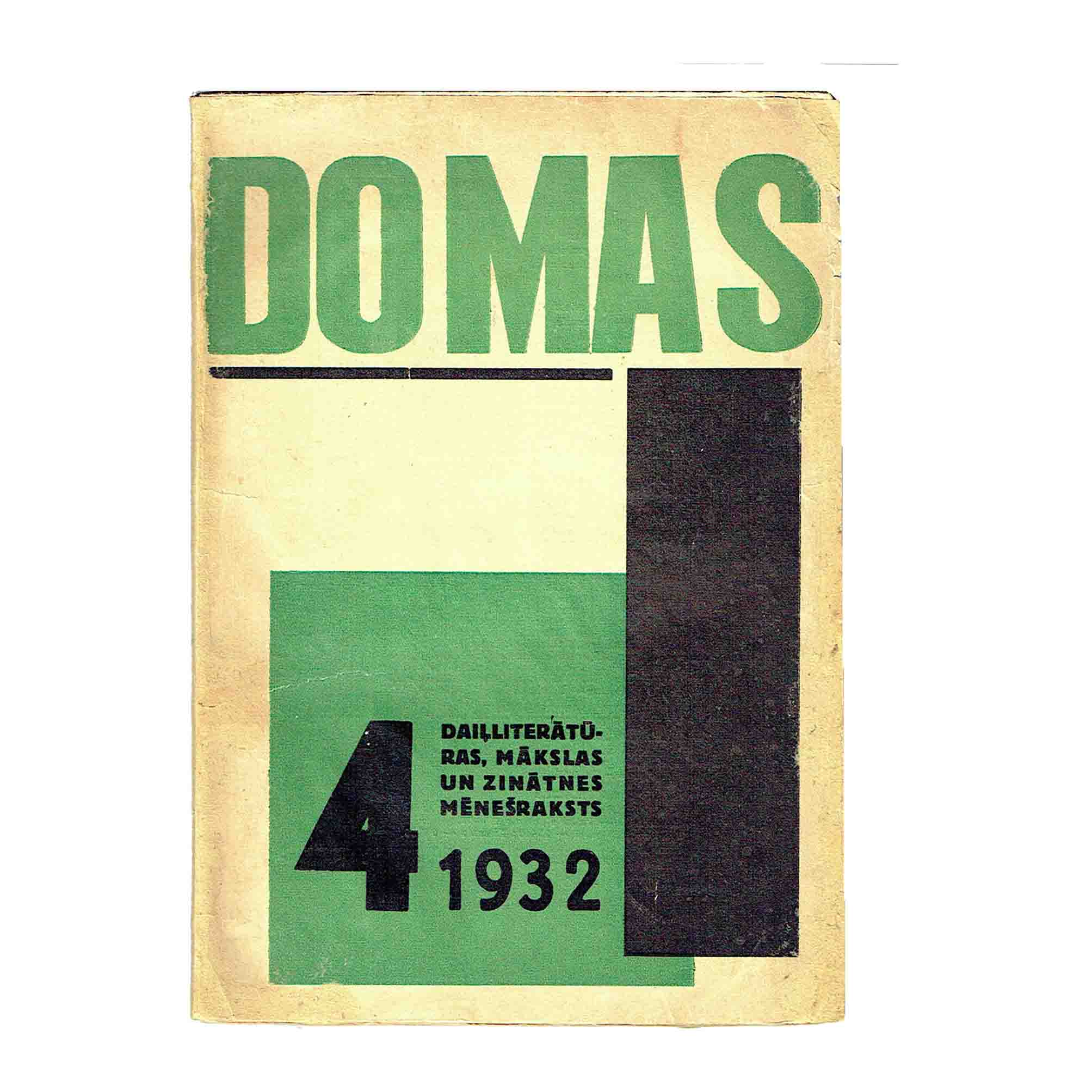5945 Domas IX 1932 4 Cover recto free N