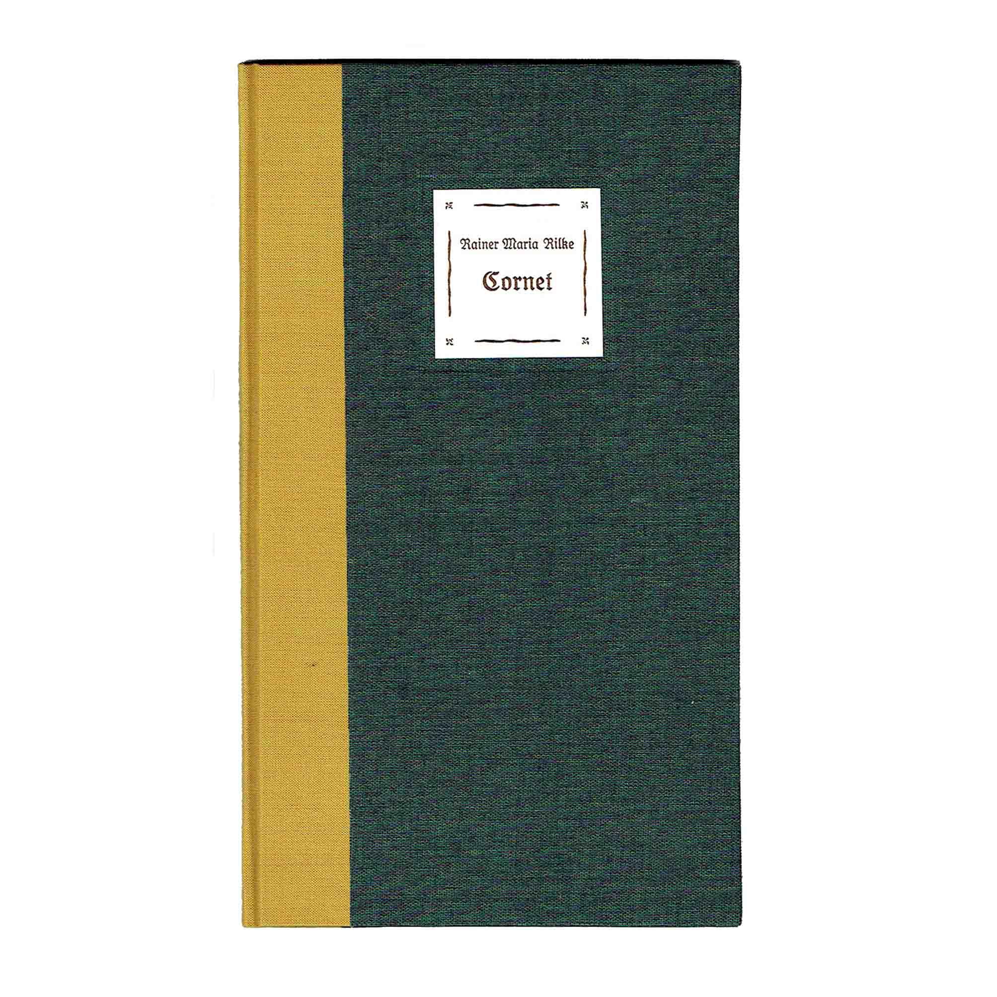 5960 Rilke Kuhn Cornet Num Sign Burgenland 1988 Einband frei N