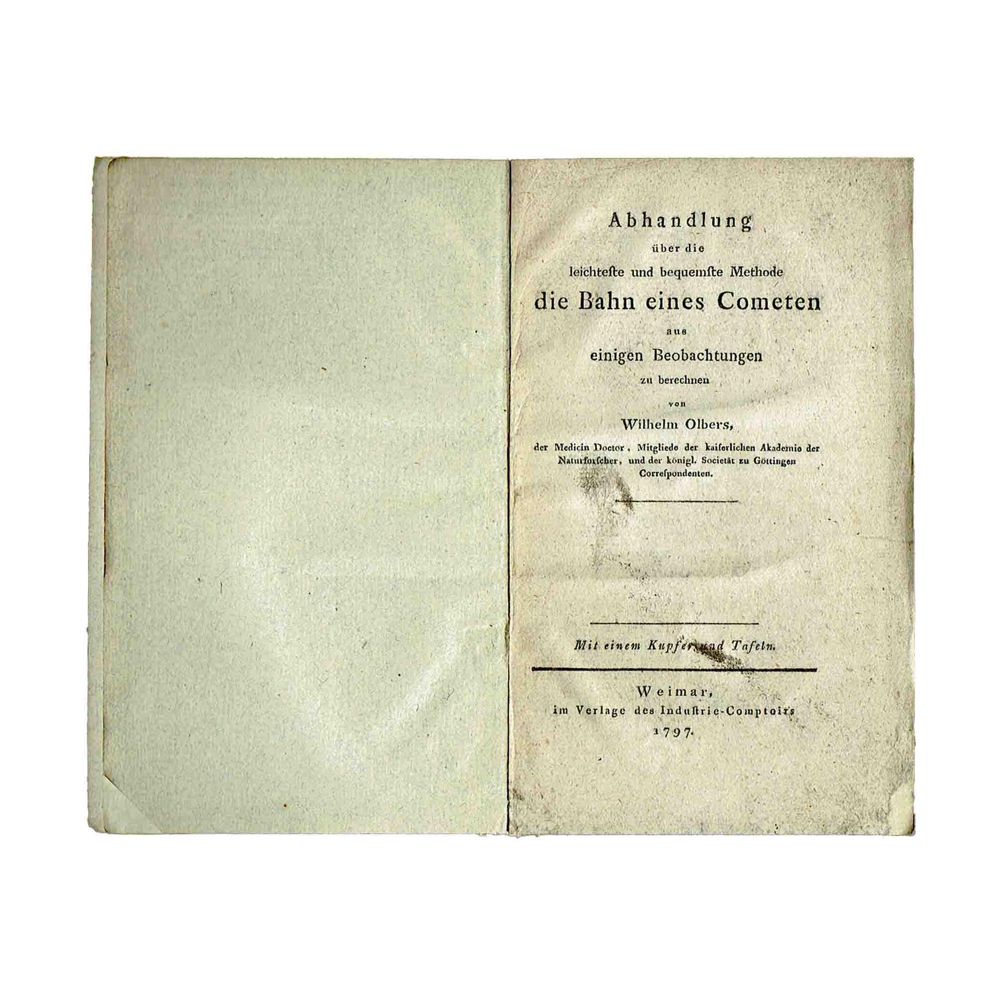 5906K Olbers Computing Comets Title free N