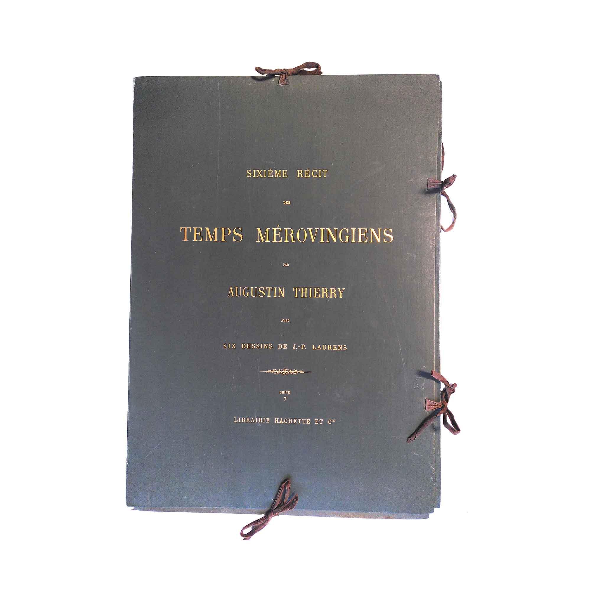 5970 Thierry Laurens Récits Mérovingiens 6. Teil 1886 Titel frei N