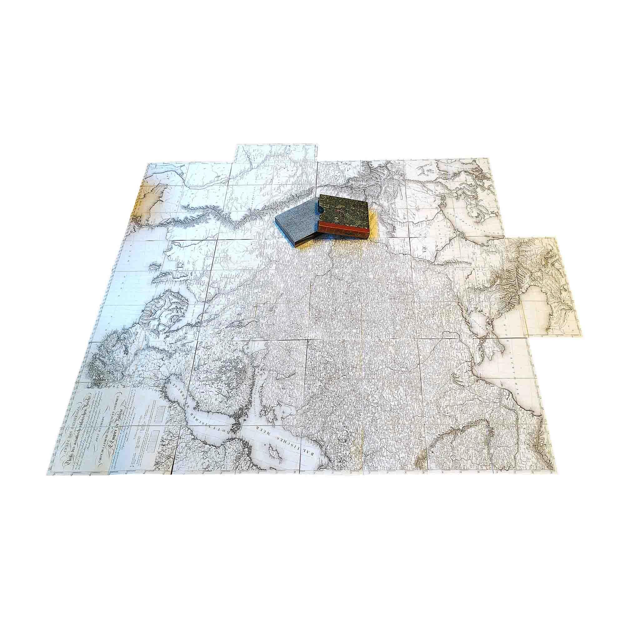 5989 Danielov Russia Map 1812 Open Complete free N