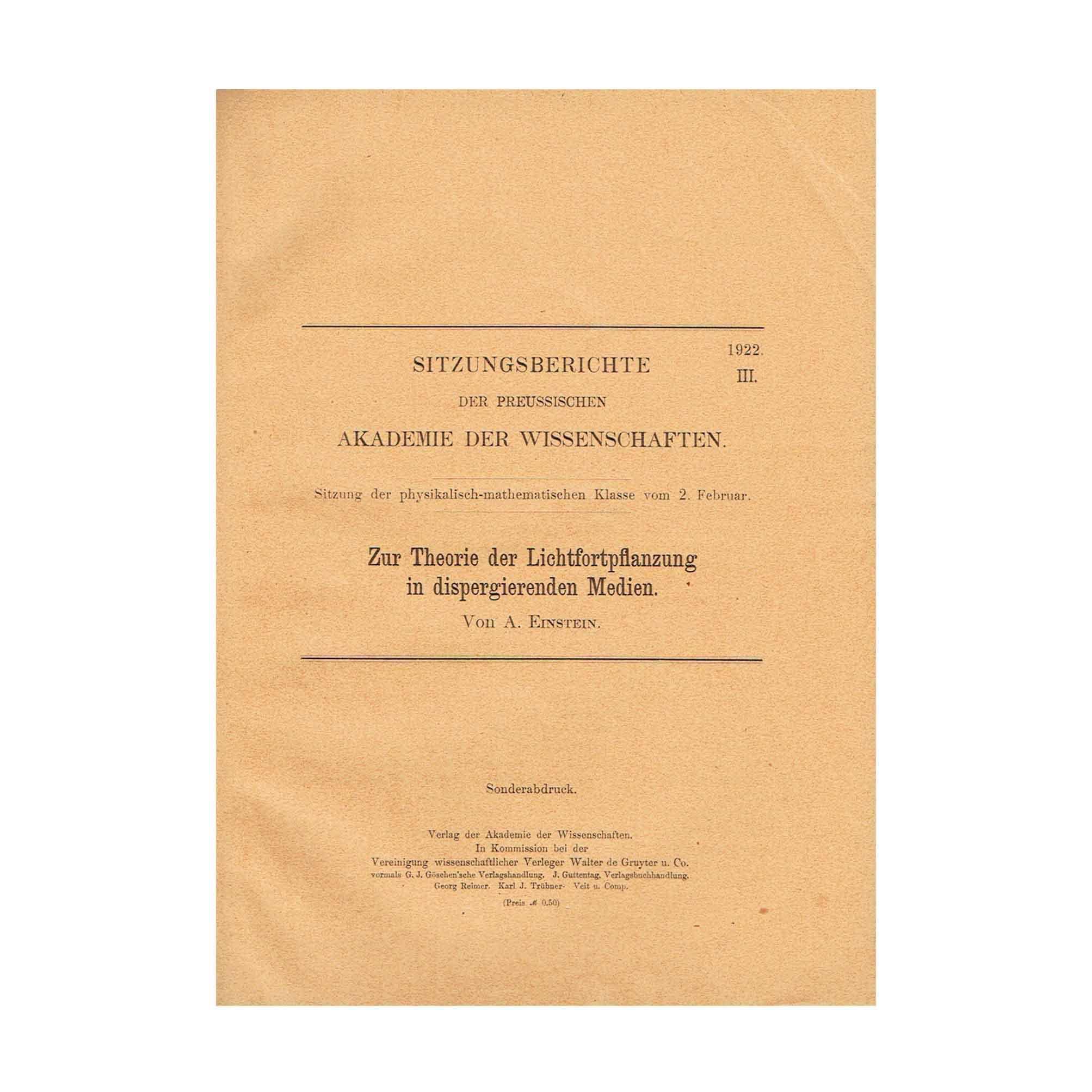 5728-Einstein-Propagation-of-Light-Akademie-III-1922-SA-Cover-recto-N.jpeg
