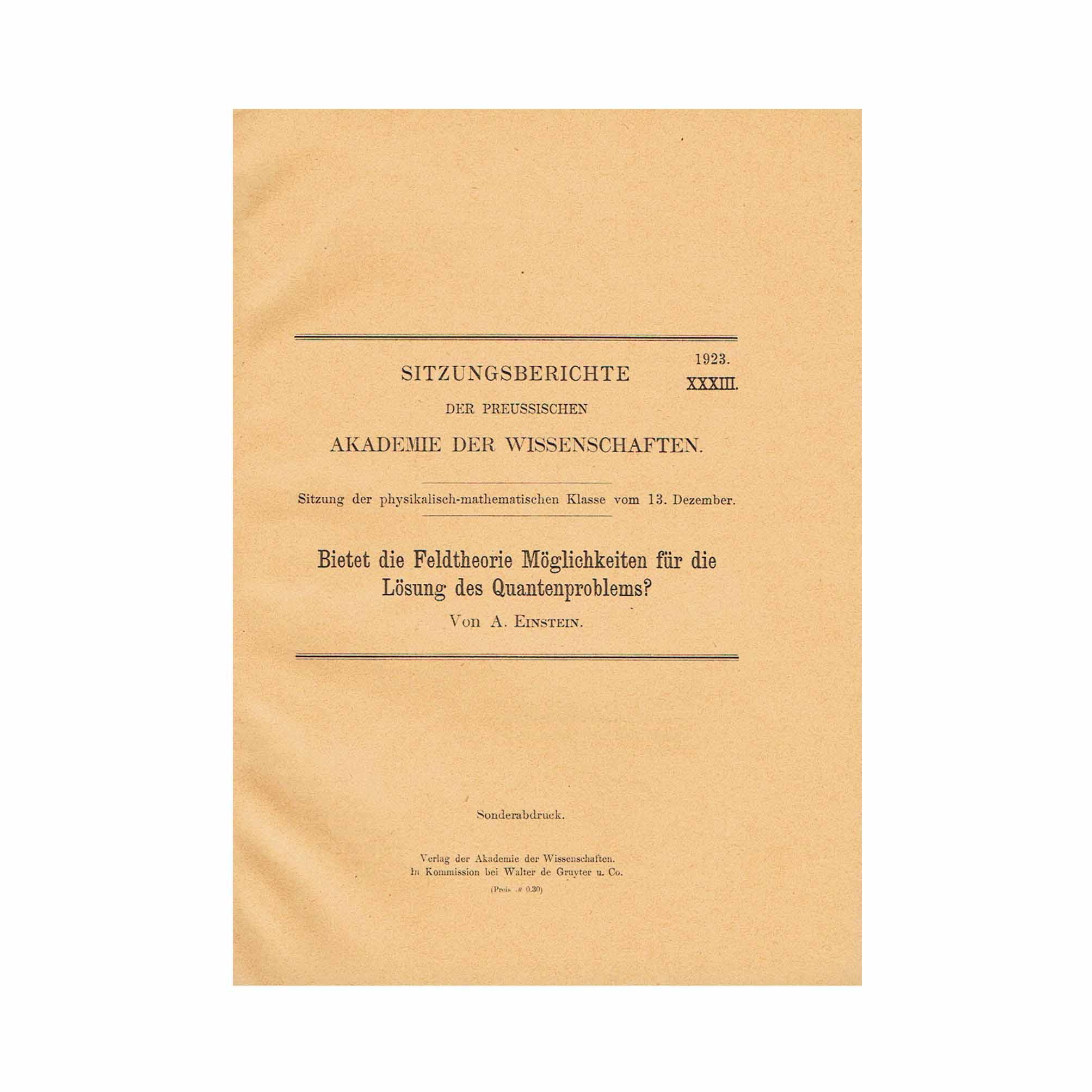 5731-Einstein-Field-Theory-Quantum-Akademie-XXXIII-1923-SA-Cover-recto-N.jpg