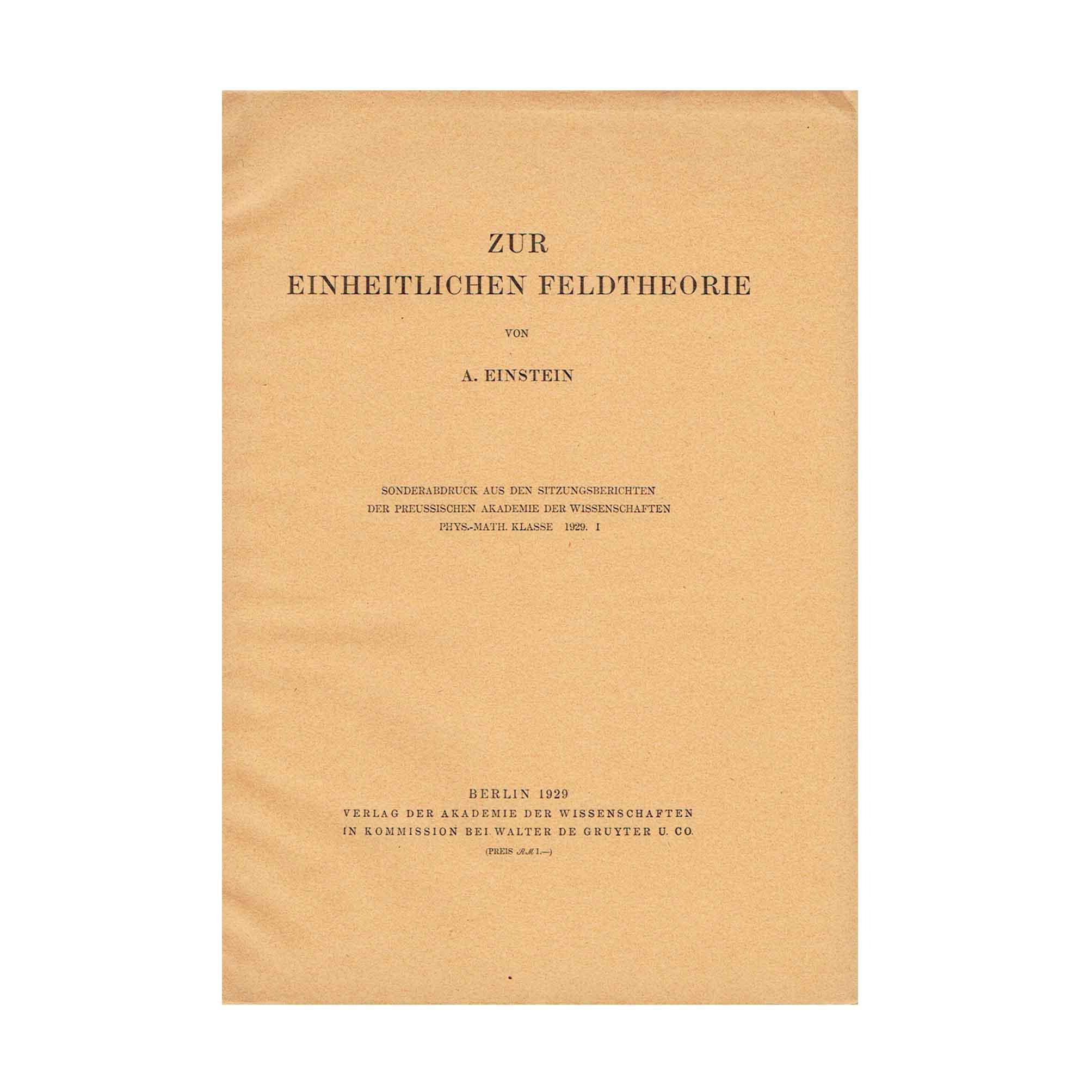5739-Unified-Field-Theory-Akademie-I-1929-SA-Cover-recto-N.jpeg