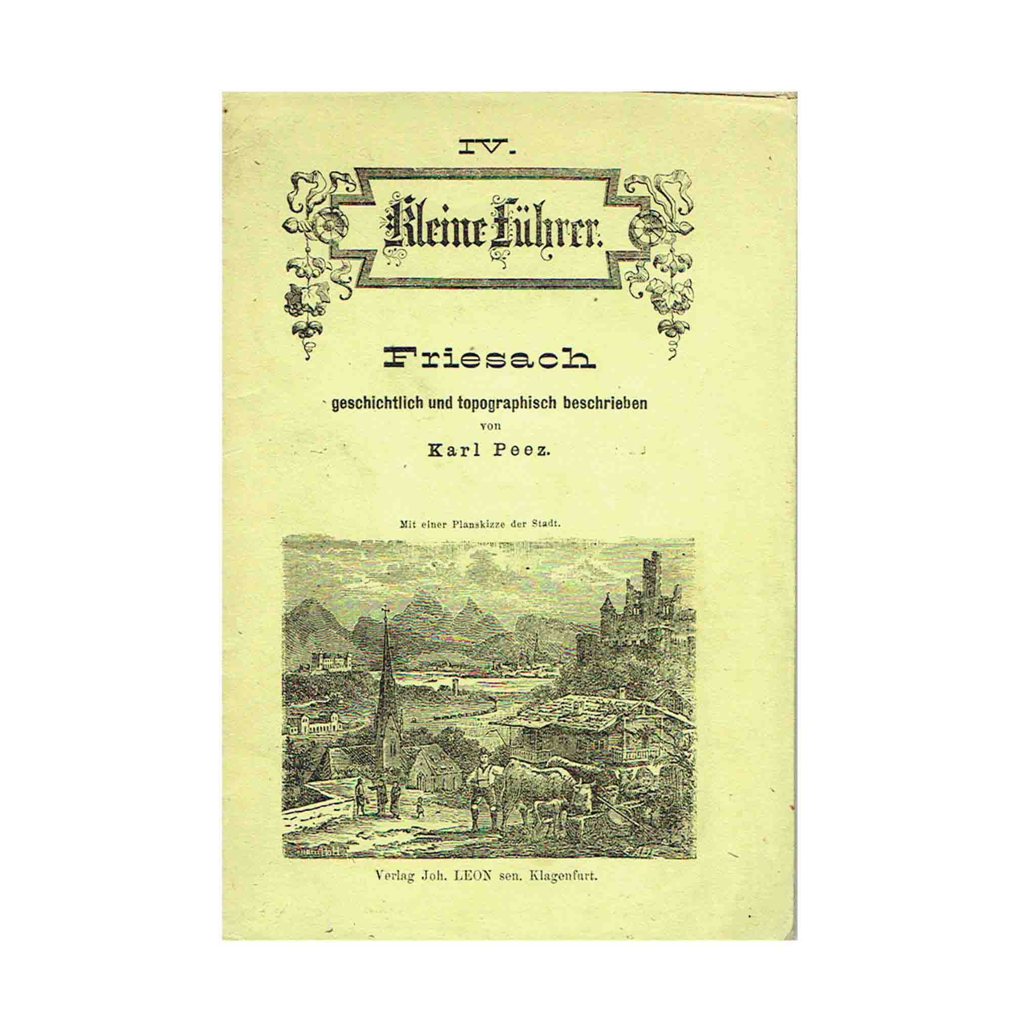 6001 Führer Friesach 1880 Umschlag N