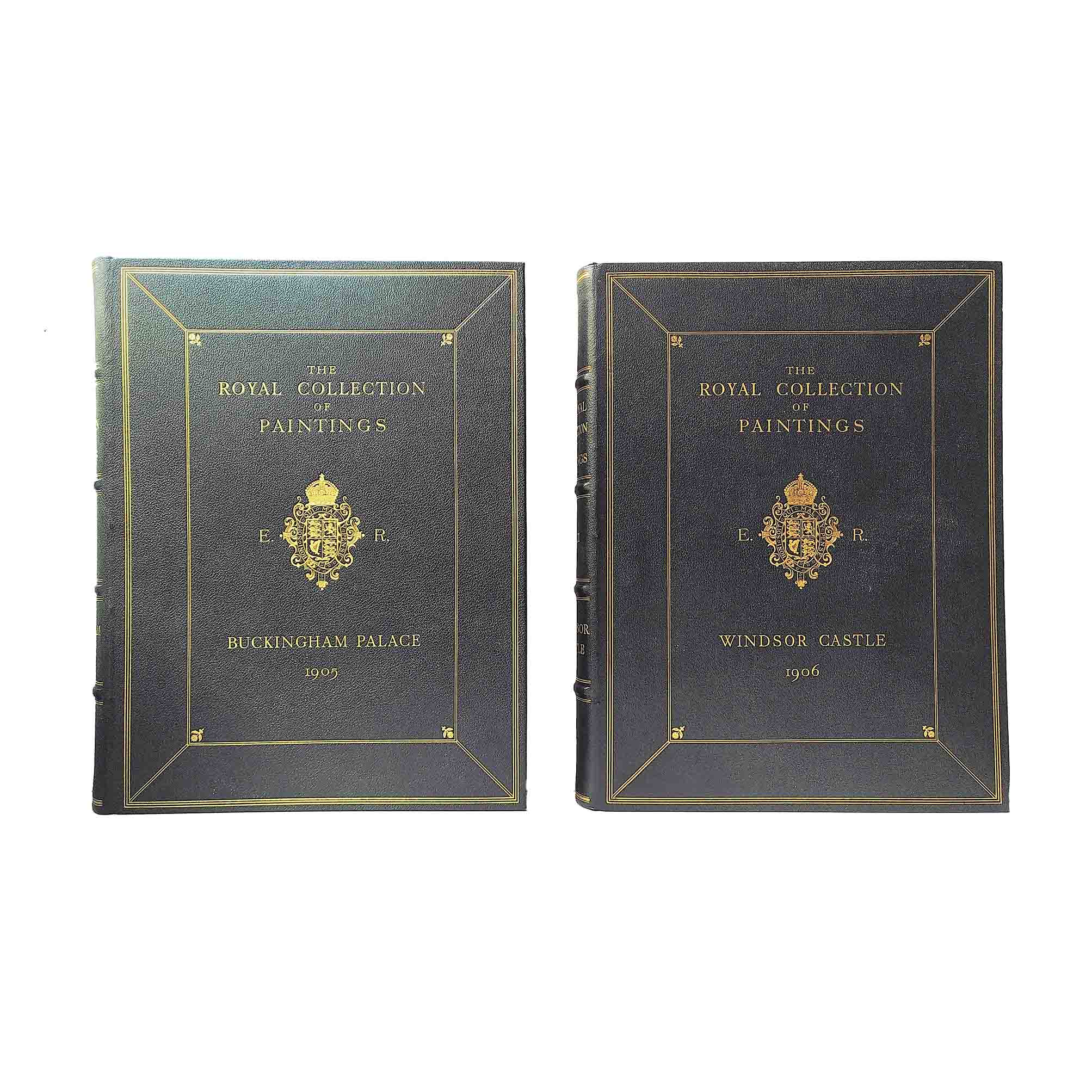 6007 Cust Royal Collection Paintings 1905 1906 Covers A N