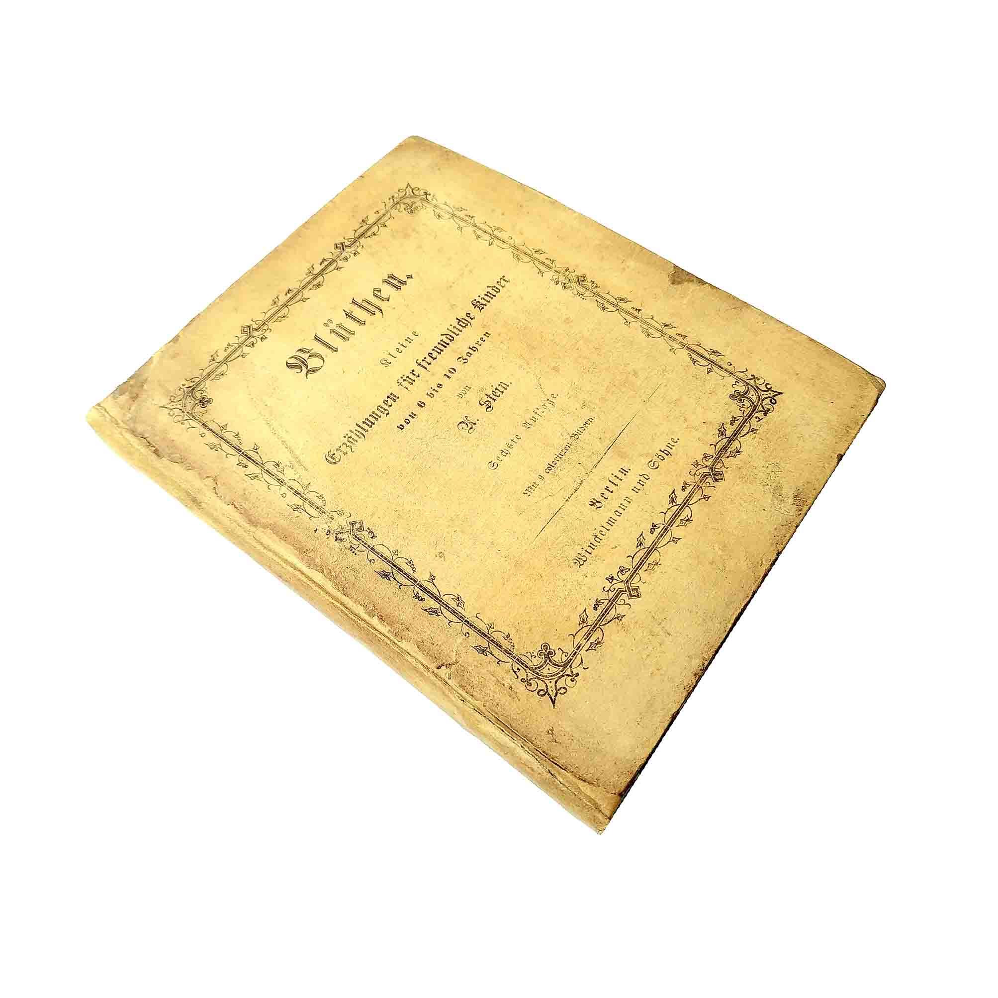 6009 Stein Blüthen 1853 Einband recto frei N