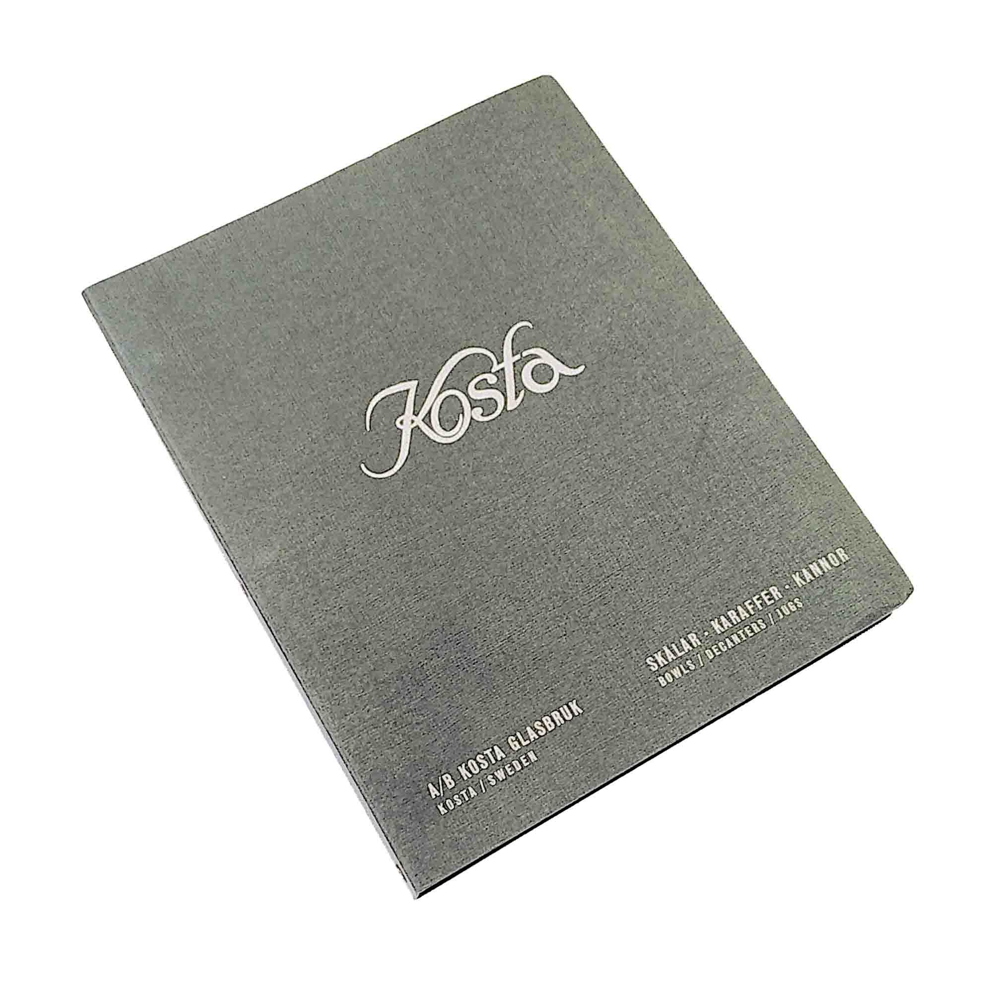 6021 Kosta Glasbruk Katalog 1936 Einband frei N