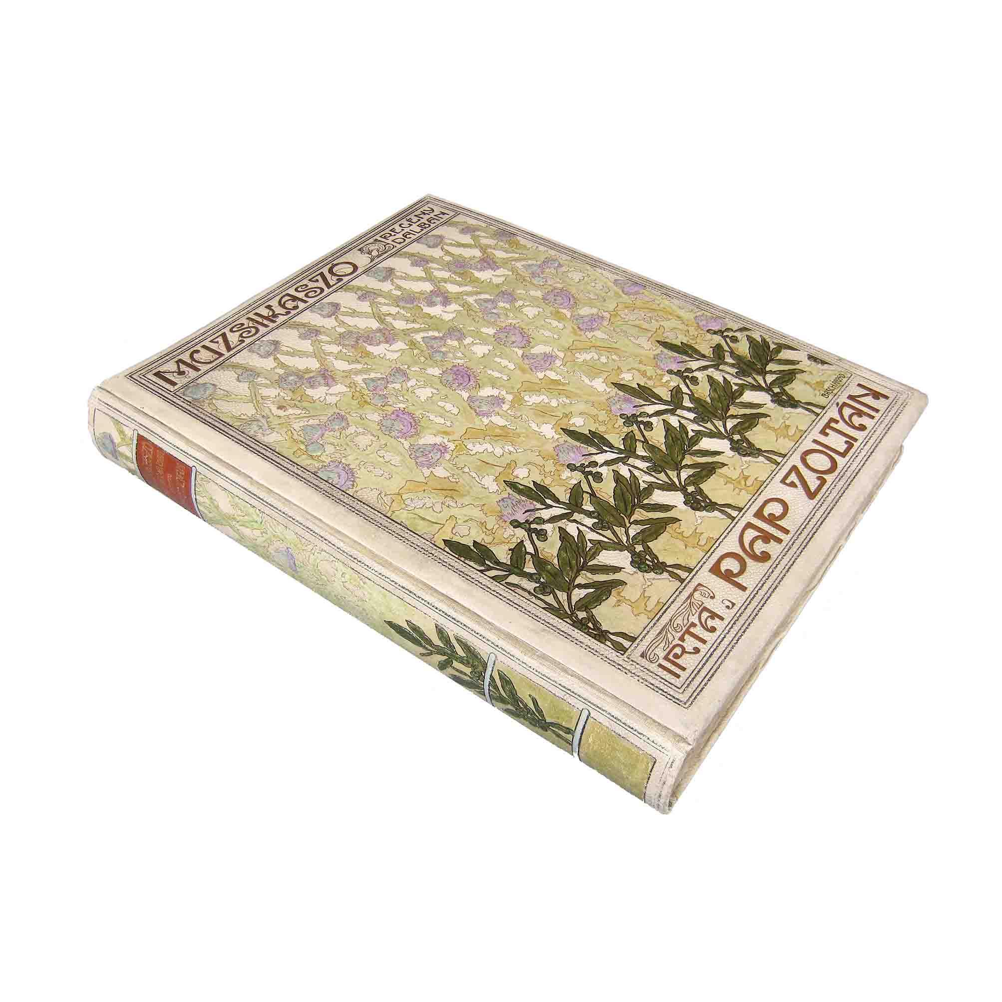 6053 Pal Basch Muzsikaszo 1911 Cover recto free N Kopie