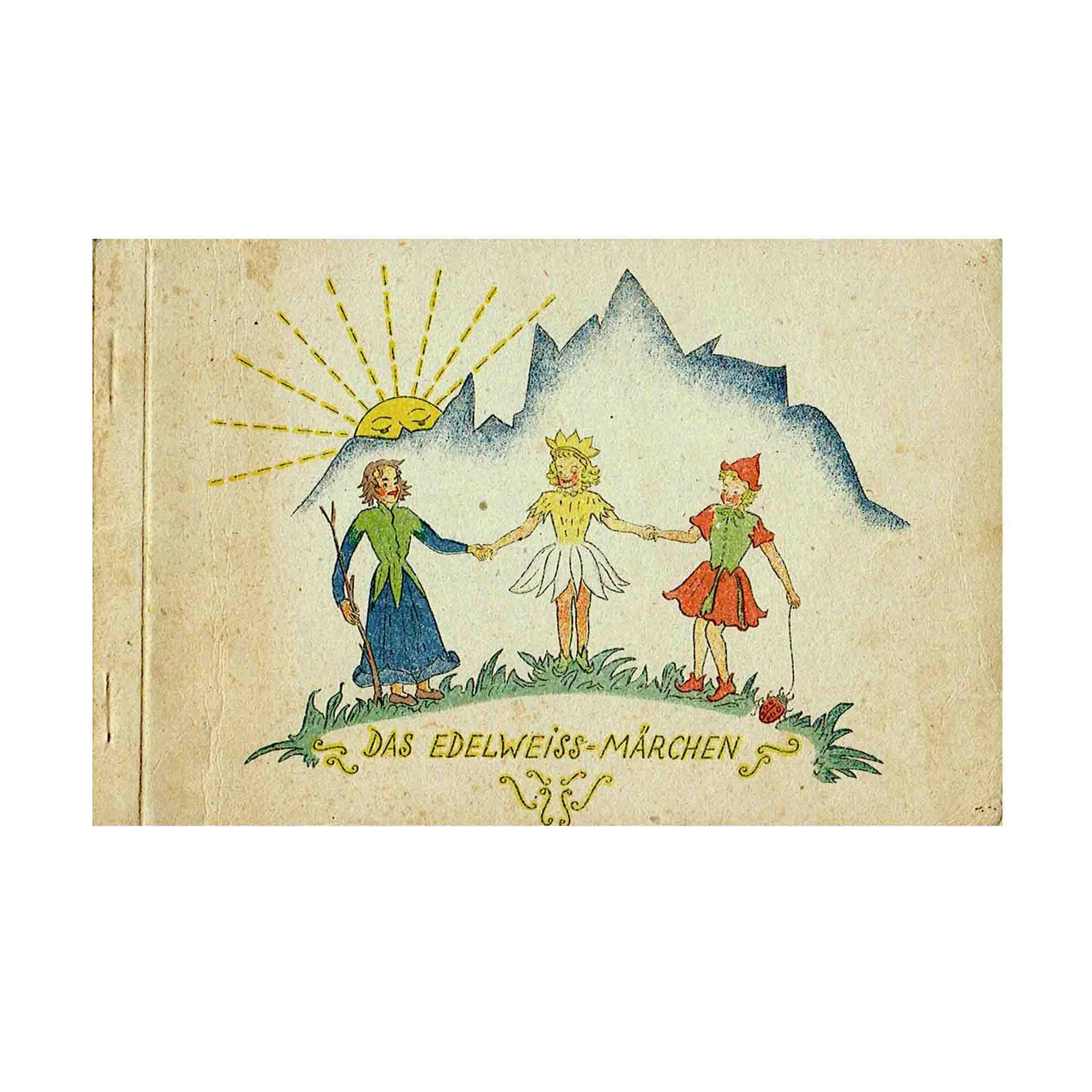 6075 Edelweiss-Märchen 1946 Umschlag N