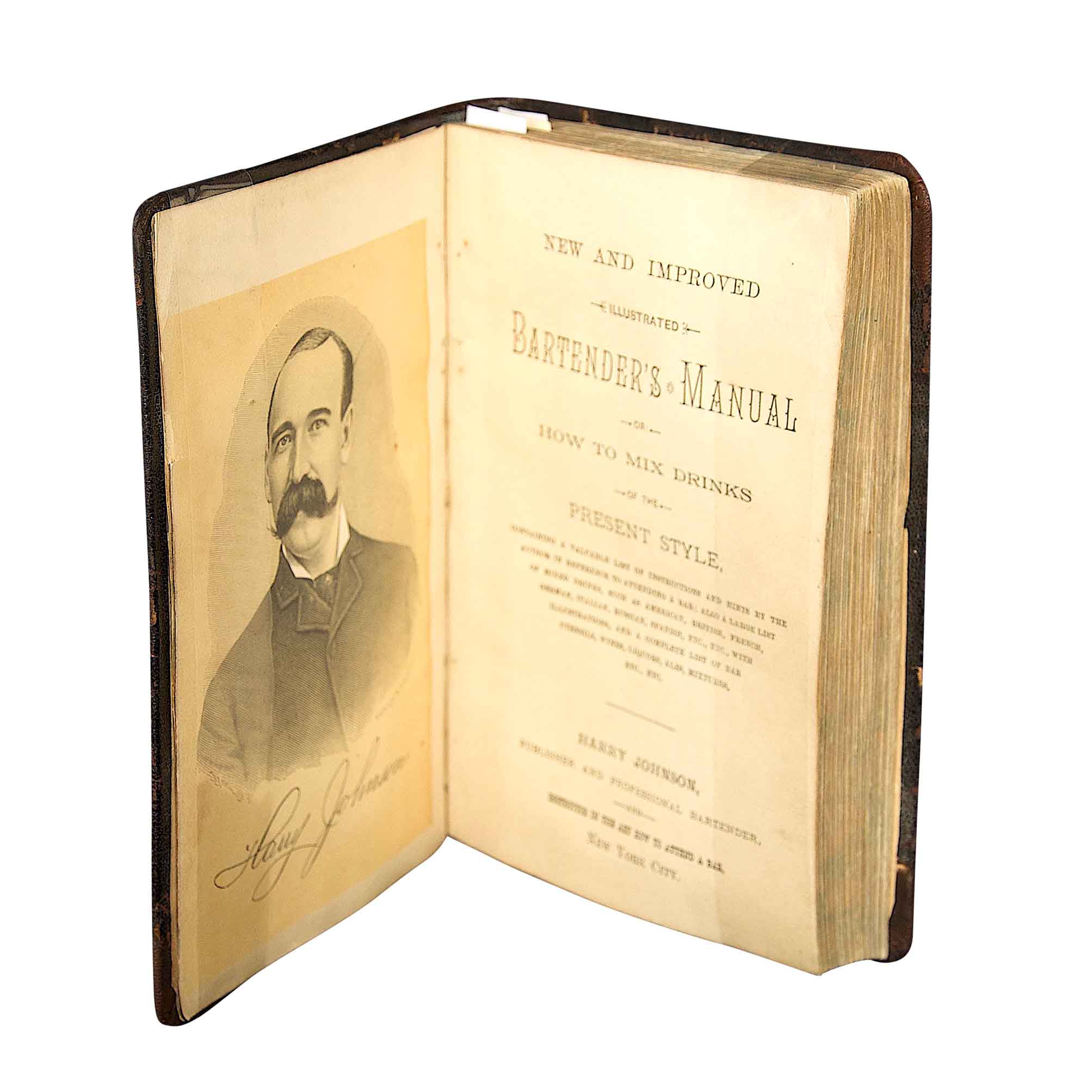 6083 Johnson Bartenders Manual 1888 Title 2 N